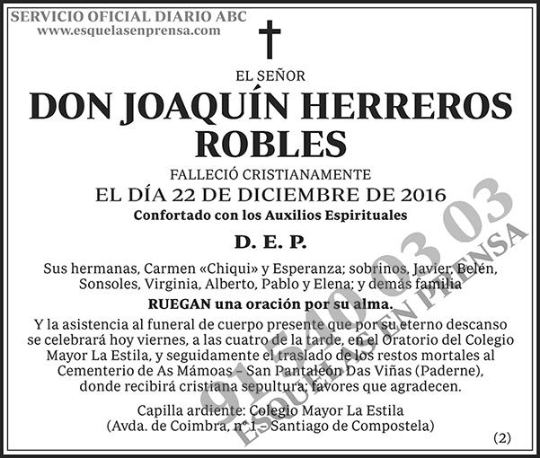 Joaquín Herreros Robles